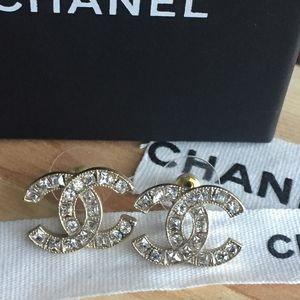 Vintage Authentic Chanel Earrings
